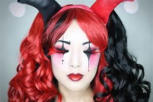 HARLEY QUINN Makeup Tutorial | Halloween 2014 - From Head ...