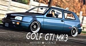 Garage Volkswagen 93 : volkswagen golf mk3 gti gta5 ~ Dallasstarsshop.com Idées de Décoration