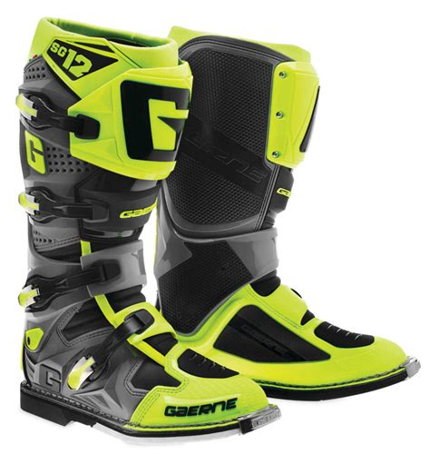 motocross boots closeout 421 00 gaerne mens sg 12 mx motocross off road riding