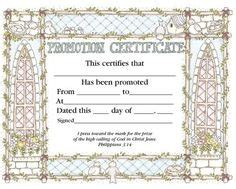 This Certificate Certifies The Completion Of Sunday School This Certificate Certifies The Completion Of Sunday School