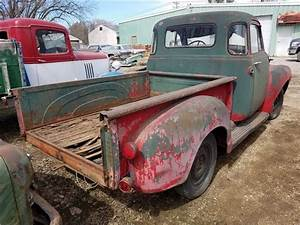 1955 Chevrolet 3100 1  2 Ton Pickup Red  Green Manual For