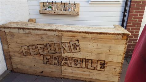 feeling fragile pallet bar  pallets
