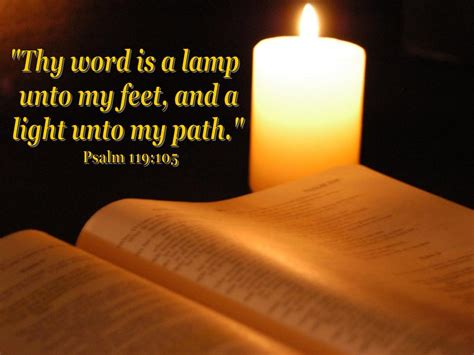 thy word is a l unto my feet meaning thy word is a l unto my feet and a light unto my path