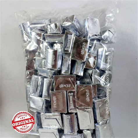 jual coklat cokelat delfi treasure cookies  cream isi