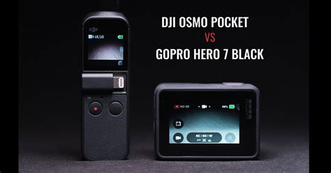 dji osmo pocket gopro hero black