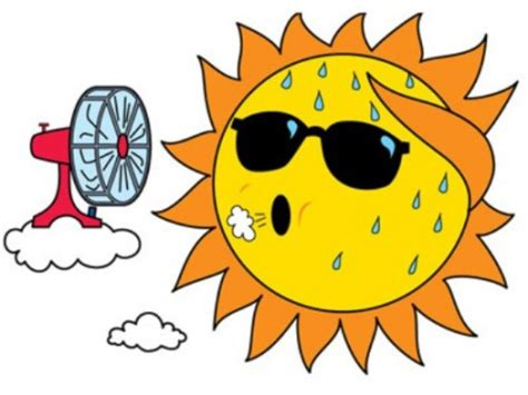 summer sunbird lodge pertaining to hot summer clipart hot