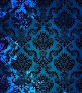 Pattern •~• turquoise & black damask wallpaper | Pattern ...