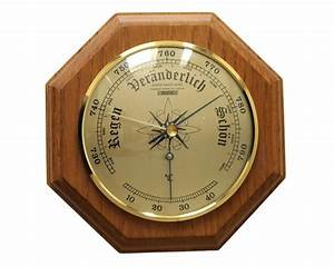 Maritime Barometer And Thermometer