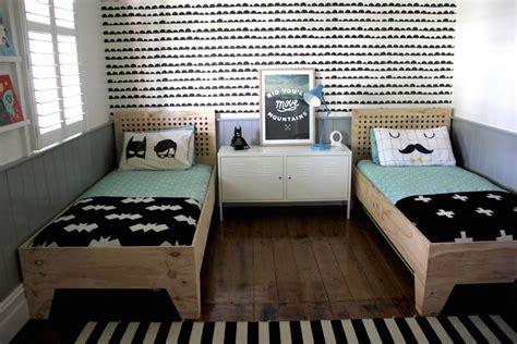 modern shared big kids room   boys kids bedroom