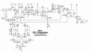 Distortion Pedal Wiring Diagram