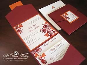 wedding invitations and programs on pinterest fall With images of fall wedding invitations