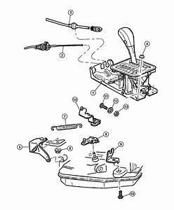 1997 Dodge Dakota Cable  Gearshift Control  Transmission