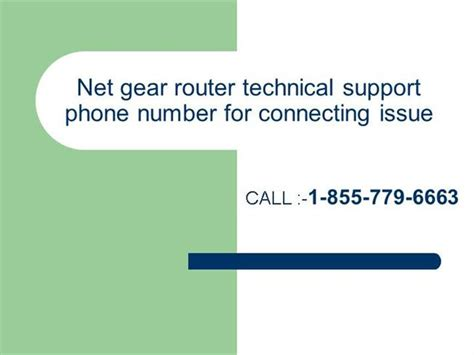 netgear phone number netgear router technical support phone number authorstream