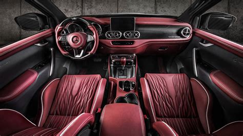 Mercedes X Class Interior by Carlex Design Mercedes X Class Interior