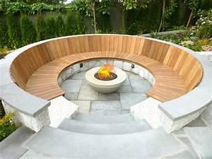 Senkgarten Mit Feuerstelle : 20 modern fire pits that will ignite the style of your backyard ~ Buech-reservation.com Haus und Dekorationen