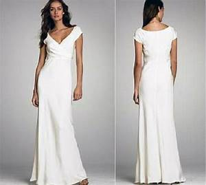 White beach wedding dresses casual images for White casual wedding dresses