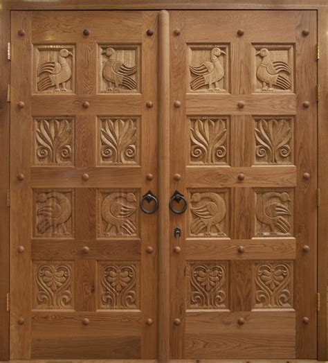 New Doors for the Russian Orthodox Church of St. Mary