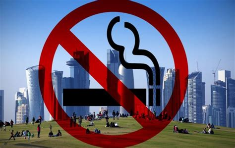 qatar cracks   smoking   law