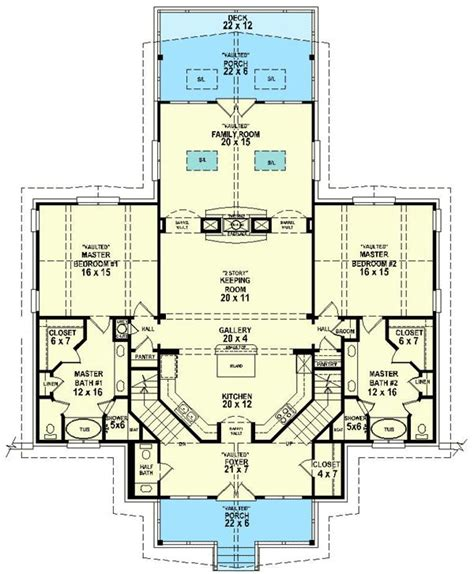 house plans with 3 master suites 44 best images about dual master suites house plans on