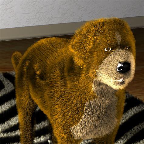 rendering realistic animal fur