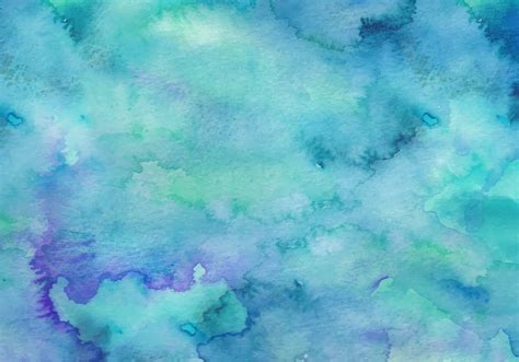 Teal Vector Watercolor Background Download Free Vectors