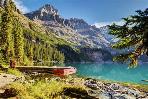 picture canada yoho nature mountains parks scenery coast