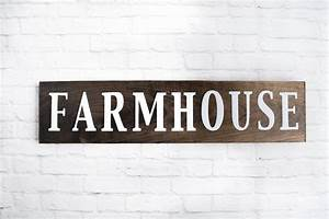 farmhouse wood sign wooden sayings wall décor rustic wood