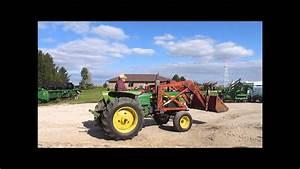 1966 John Deere 2020 Tractor For Sale