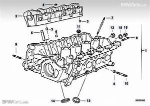 Cylinder Head Bmw 3 U0026 39  E36  318is  M42   U2014 Bmw Parts Catalog