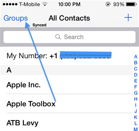 how to create groups on iphone how to create contacts on your iphone with