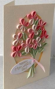 Paper Daisy Cards: Quilled mother's day card | Card Ideas ...