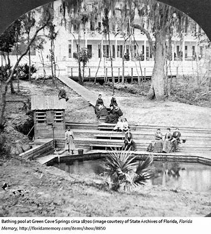 Clay County Florida History Springs Cove Created