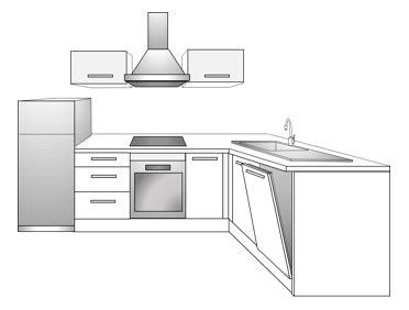 plan type cuisine toutes nos cuisines conforama sur mesure montées ou