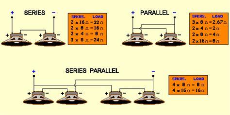 series vs parallel hookup