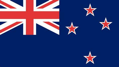 La forma de la bandera de Nueva Zelanda