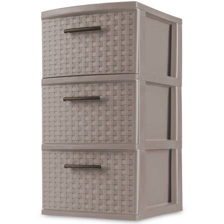 sterilite 5 drawer tower sterilite 3 drawer weave tower taupe splash of 2