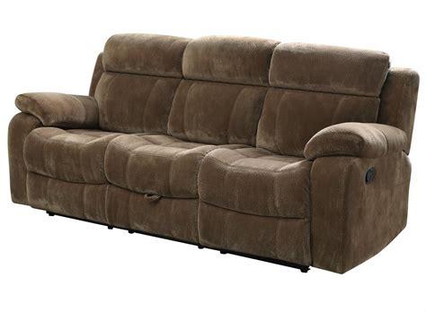 Coaster Myleene Motion Sofa W/ Pillow Arms