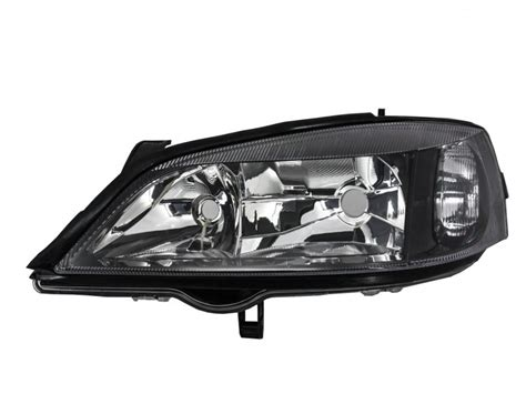 opel astra 2004 black opel astra g 1997 2004 replacement left side headlight