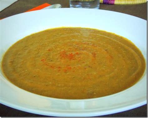 lentille cuisine soupe aux lentilles le cuisine de samar