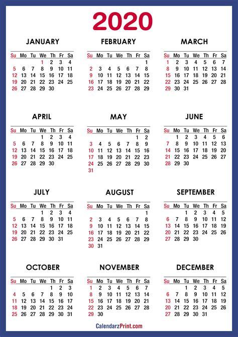 printable  calendar hd blue ss