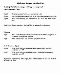 Wrap Action Planning For Triggers Free Printable Therapy Pinterest