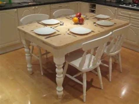 shabby chic cottage farmhouse kitchen dinning table