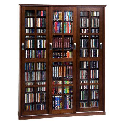 media storage cabinet leslie dame multimedia storage cabinet walnut ms 1050w