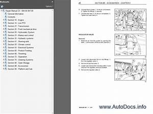 New Holland Combine Cx Series Workshop Service Manual