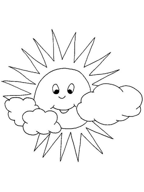 sun coloring pages   print sun coloring pages