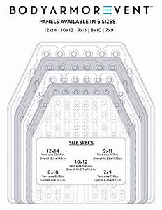 Sizing Guide Body Armor Vent