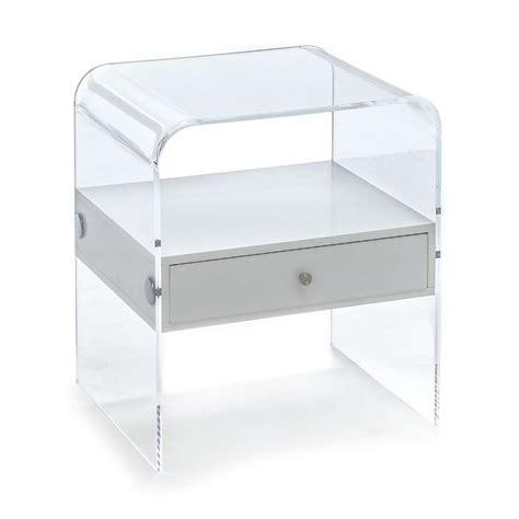 Comodini Design Moderno by Comodino Di Design Moderno Con Cassetto Laccato Bianco
