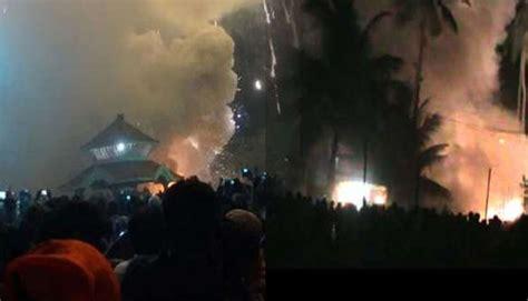 Firework Display At Puttingal Temple In Kerala Turns Into