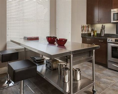 stainless steel kitchen island table 17 best ideas about stainless steel island on 8256