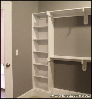 Simple Bedroom Closet Ideas by New Home Master Bedroom Closet Storage And Builtin